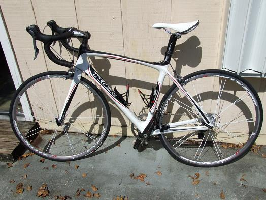 Bike Diva's Trek Madone 6.5 WSD Road Bike