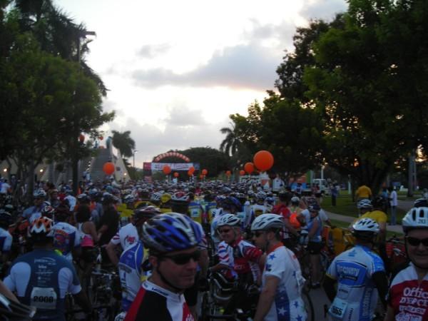 Start of Ride