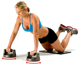 Perfect pushup women
