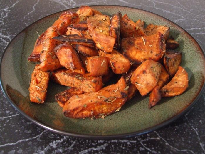 Roasted Sweet Potato Recipes Herb Roasted Sweet Potatoes