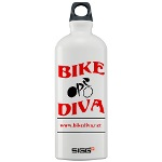Bike Diva water bottle