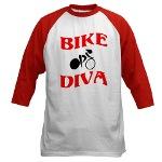 Bike Diva baseball jersey
