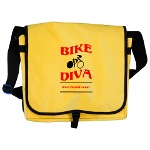 Bike Diva messenger bag