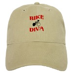 Bike Diva baseball cap