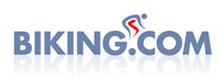 Biking dot com web logo