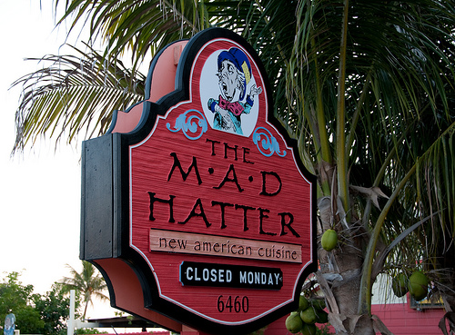 MadHatter Sign